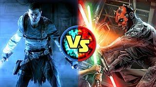 Star Wars Versus: Starkiller VS. Darth Maul - Star Wars Basis Versus #3