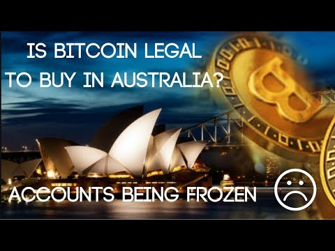 Is Bitcoin Legal In Australia? (CommBank Freezing Bank Accounts)