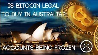 Is Bitcoin Legal In Australia? (CommBank Freezing Bank Accounts)