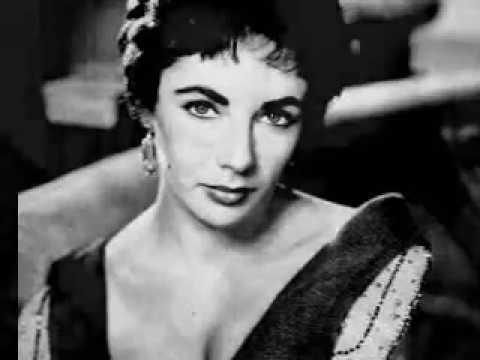 Dame Elizabeth Taylor - Rhapsody - by Richard Bassett