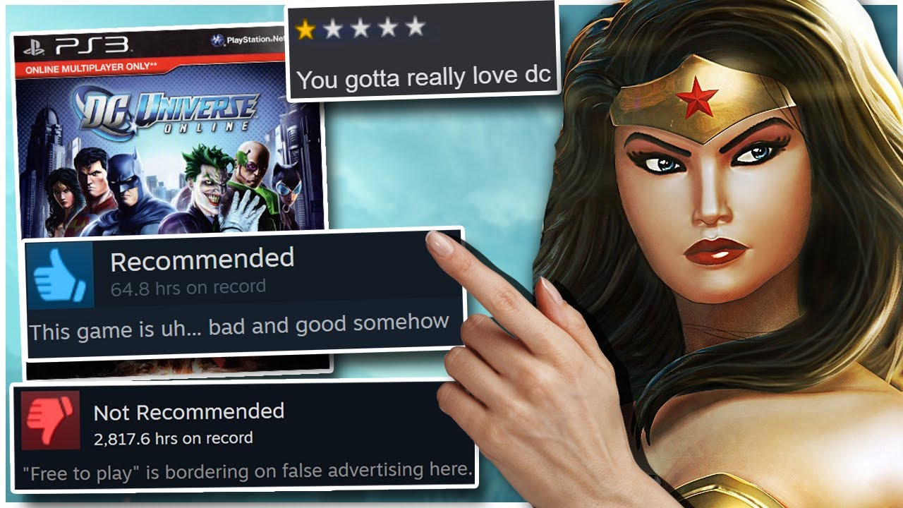 I forced my friends to play DC UNIVERSE ONLINE