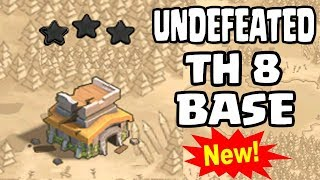 NEW TH8 WAR BASE 2018 Anti 3 STAR | Town Hall 8 (TH8) WAR BASE CLASH OF CLANS
