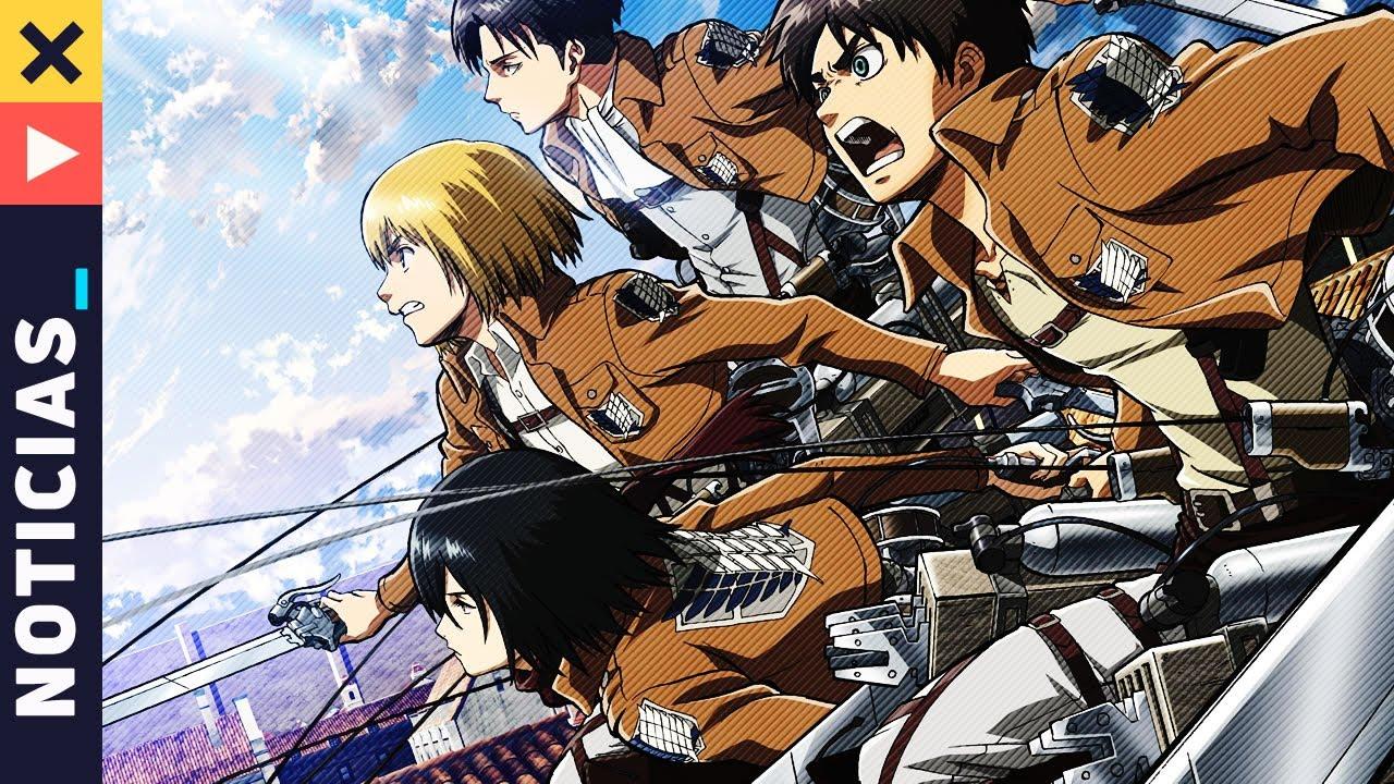 La Temporada Final de Shingeki no Kyojin se Estrenará en Diciembre y más - Noticias