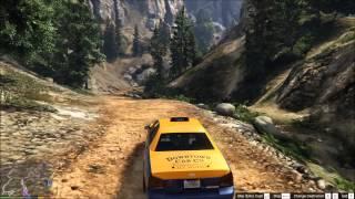 GTAV-PC - Taxi Challenge