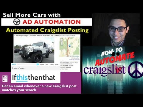 Automating Craigslist to Get Leads
