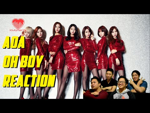 [4LadsReact] AOA - OH BOY MV Reaction