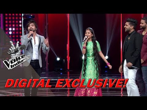 Guru Randhawa & Coach Himesh Sings Aashiqui Mein Teri | Moment | The Voice India Kids - Grand Finale