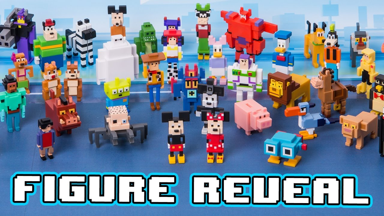 Disney Crossy Road Mystery Blind Box Figure Reveal All