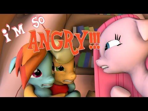 I'm so ANGRY!!! [SFM - Pony Anthology 3 Short]