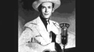 Hank Williams - Kaw-Liga 1953 (The Wooden Indian) Drifting Cowboys