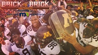 """The Little Brown Jug"" Brick by Brick: Gopher Football 2014 (Episode 7)"