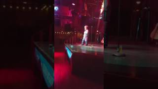 Clinton Shorter Performs Stand Up Comedy