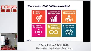 Sustainability of Open Source in International Development - Michael Downey- FOSSASIA 2018