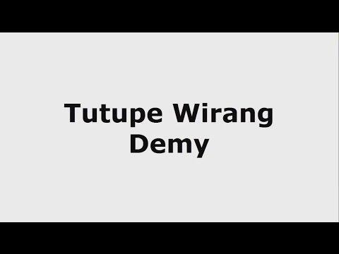 Tutupe Wirang - Demy Karaoke