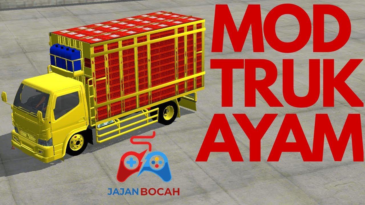 MOD TRUK AYAM | BUSS ID | Bus Simulator Indonesia | Game Truck | Permainan Simulator