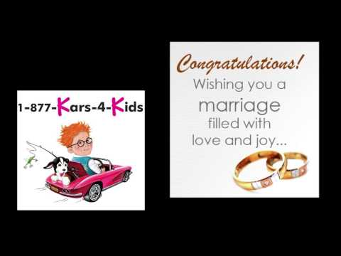 Congratulations Lenny and Jillian on your wedding from Kars for Kids!