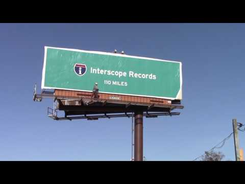 Interscope Records Billboard Outdoor Advertising