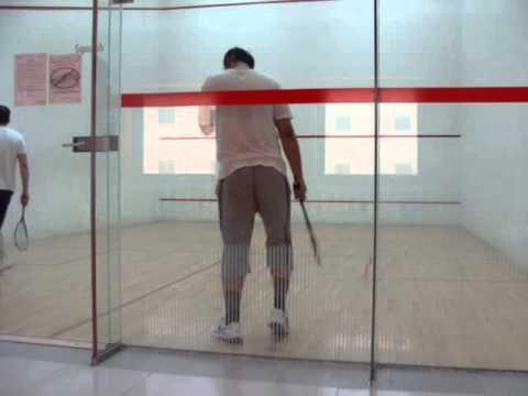Fahed & Sohail Squash Match @ Samsung Engineering Jubail