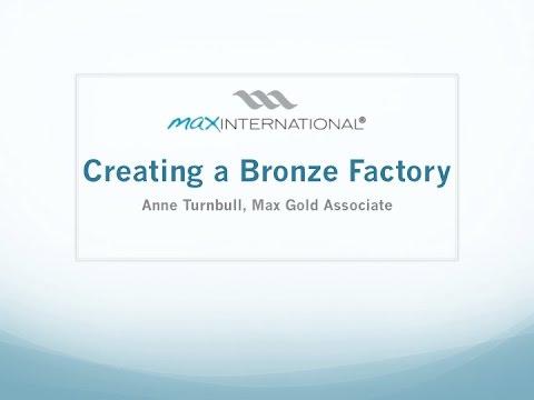 Becoming a Bronze Factory Max Ghana