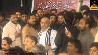 Haji Ansar Party Shab Baidari Wah Cantt Anjuman Masoomia 2014 (1435)Jawan Gi Naal Leke  Part 1