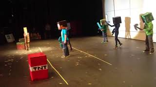 Minecraft Talent Show Cringe Compilation Video