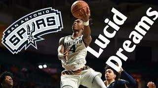 "Lonnie Walker Spurs Promo - ""Lucid Dreams"""
