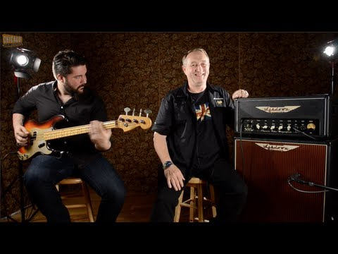 Ashdown Amp Review of CTM300 & CTM15 With Founder Mark Gooday