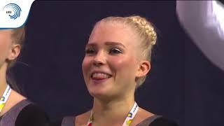 Finland - 2016 TeamGym Europeans, junior women's team final