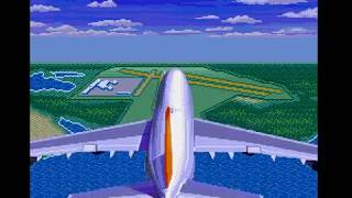 Mega Drive Longplay [495] Aerobiz Supersonic