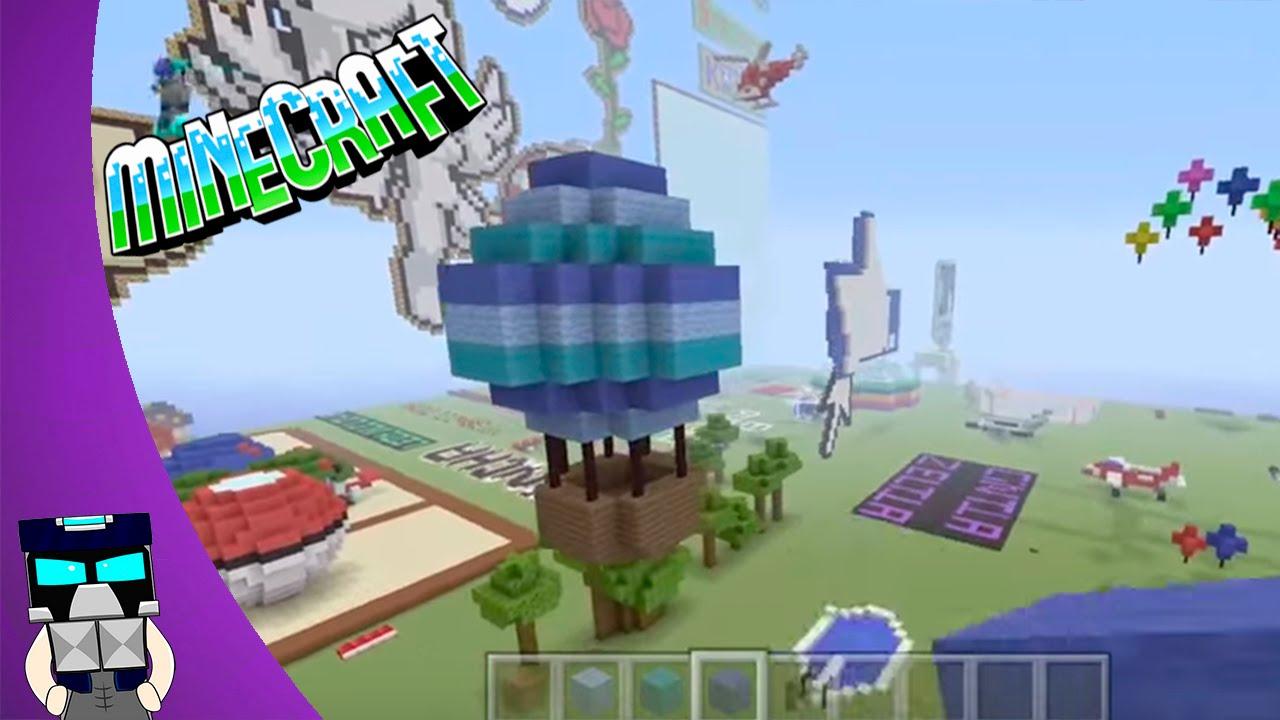 Como hacer un globo en minecraft youtube - Decoraciones para minecraft sin mods ...