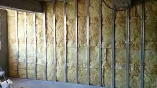 видео Обшивка стен из гипсокартона, материалы для обшивки стен