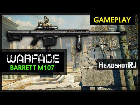 Warface Barrett M107 Downtown