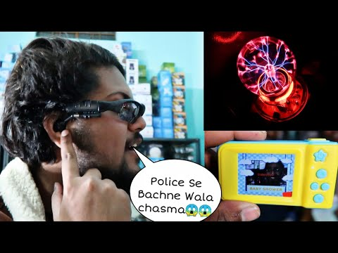 UNIQUE ELECTRONIC ITEMS SHOPPING😱😍- Bluetooth Glasses, Moon Light, Kids Camera
