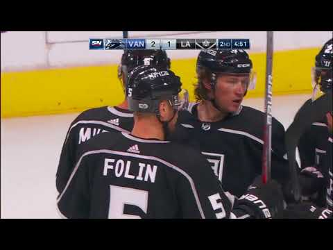 Vancouver Canucks - Los Angeles Kings - September 16, 2017 | Game Highlights | NHL 2017/18