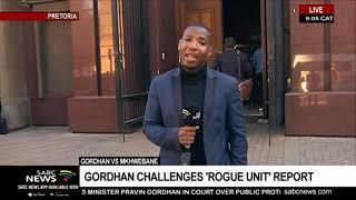 Gordhan vs Mkhwebane | Gordhan challenges 'rogue unit' report