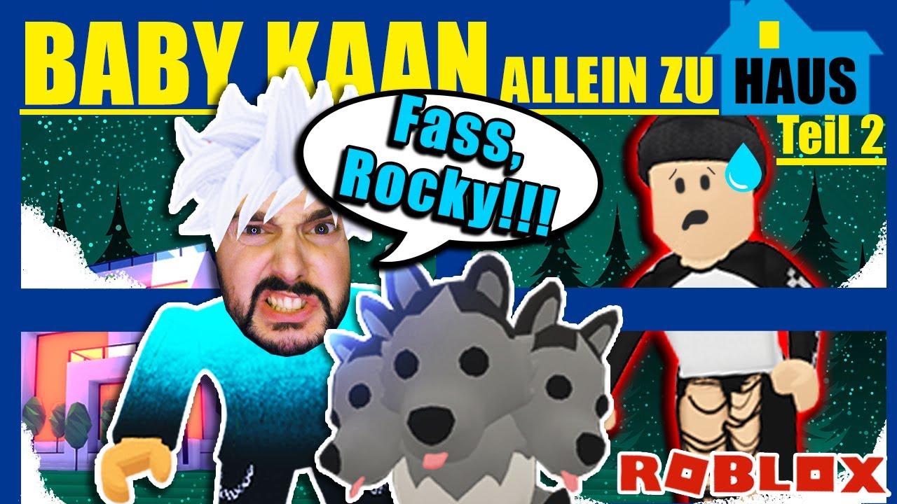 Download BABY KAAN ALLEIN ZUHAUS TEIL 2! Kann Baby Kaan den Einbrecher in die Flucht schlagen? Roblox Deutsch