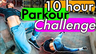 Can we make a Parkour Video in 10 hours? (SAVAGE BAIL) Storm Freerun