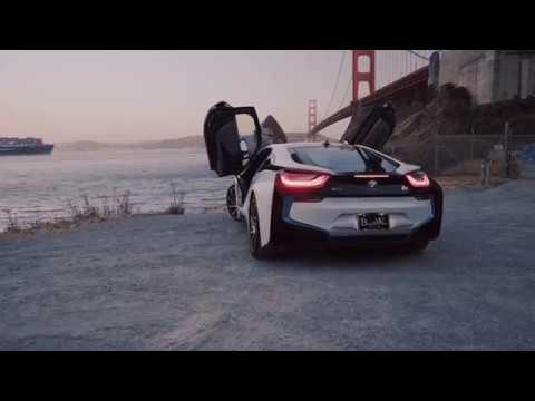 Bmw I8 Car Rentals Los Angeles Black White Car Rental Youtube