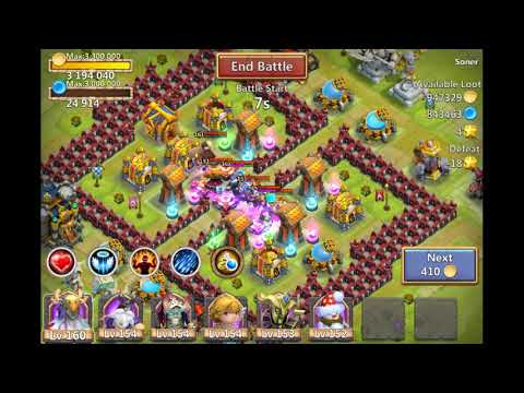 Castle Clash 1.6.22 APK + DATA Game For Android Online Game (Link In Description)