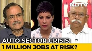 Auto Sector Crisis: 1 Million Jobs At Risk?