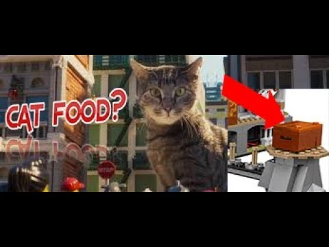 The ultimate ultimate weapon is actually cat food!!!! The Lego ...