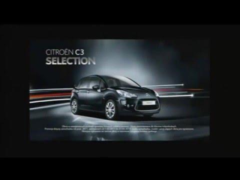 Reklama Citroen C3 II, Nowy C5 II (FL) Selection 2011 Polska