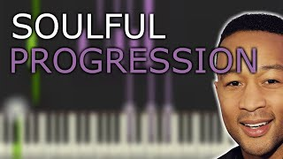 RnB / Neo Soul Piano Progression - Soulphonic - Synthesia (D MAJOR)