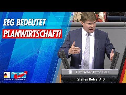 EEG bedeutet Planwirtschaft! - Steffen Kotré - AfD-Fraktion im Bundestag