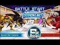 Digimon Links - Colosseum PvP Battle VS [Ravemon BM, Examon, Leopardmon]