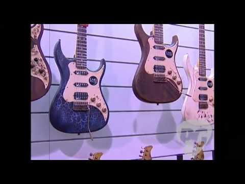 NAMM '09-Axl Guitars Badwater Series Eldorado & SRO