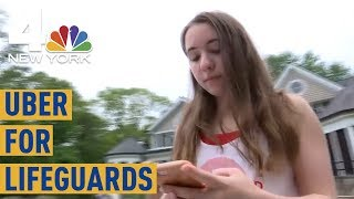 Lifeguard on Demand: Teen Launches the Uber for Lifeguards | NBC New York