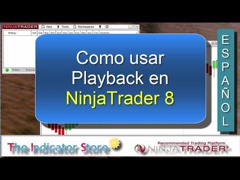 Como usar el Playback en NinjaTrader 8 ( Market Replay )