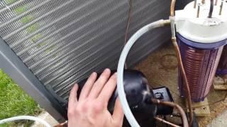 Lay Z Spa Air Source Heat Pump Test
