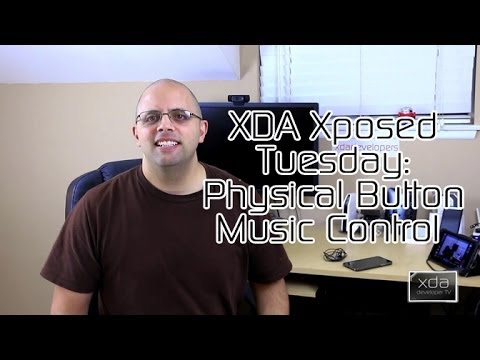 Physical Button Music Control - XDA Xposed Tuesday
